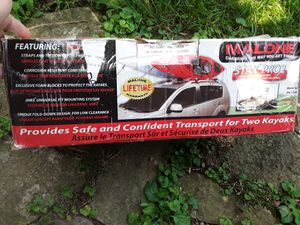 Double Kayak roof rack for Sale in Round Lake Heights, IL