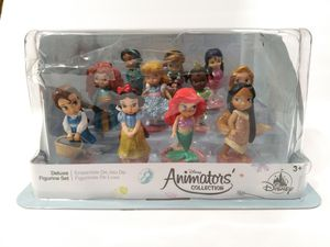Disney Animator's Collection Deluxe Figurine Princess Set for Sale in Santa Ana, CA