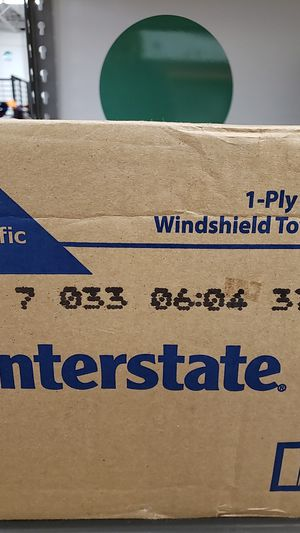 Interstate one ply blue windshield towels for Sale in St. Louis, MO