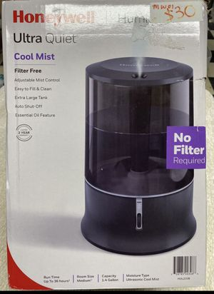 Honeywell Ultra Quiet Cool Mist Humidifier, HUL233B, Black🔥🔥🔥 for Sale in Houston, TX