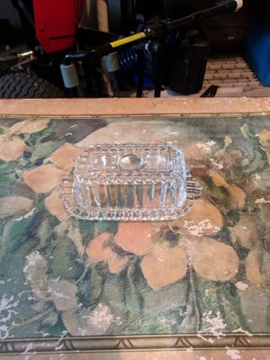 Small Antique Glass Butter dish for Sale in Columbia, MD