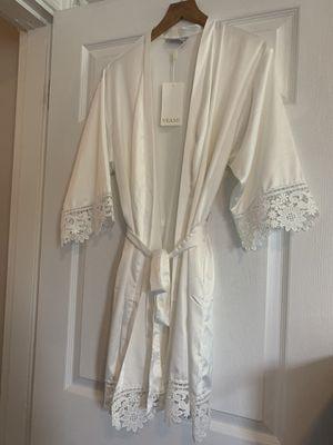 Bridal satin robe for Sale in Washington, DC