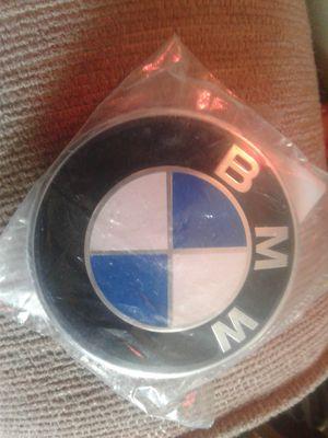 OEM BMW HOOD EMBLEM BADGE - GENUINE OEM BMW 82mm LOGO EMBLEM 51 148 132 375. T 1 for Sale in Indianapolis, IN