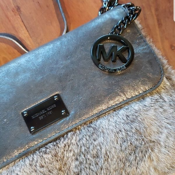 Michael Kors Rabbit Fur Crossbody