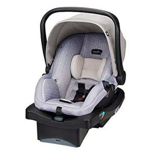 Evenflo LiteMax 35 Infant Car Seat, Easy to Install, Versatile & Convenient, Meets or Exceeds All Federal Safety Standards,Riverstone Gray for Sale in Phoenix, AZ