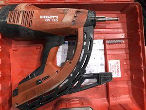 Hilti GX120 Gas Nailer for Sale in Cooper City, FL