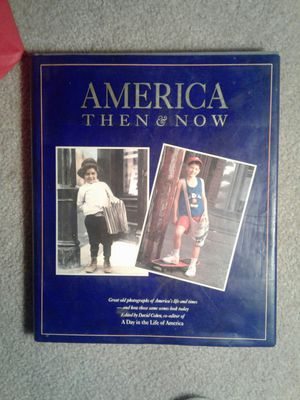 "Hard Cover Book ""America Then & Now"" for Sale in San Jose, CA"