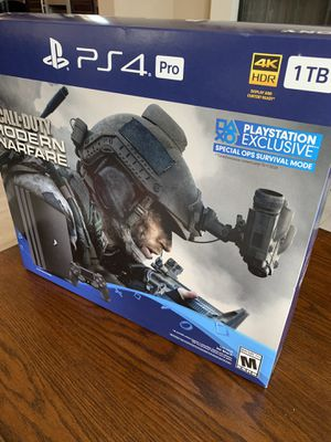 PS4 Pro BRAND NEW Call of Duty for Sale in Camp Pendleton North, CA