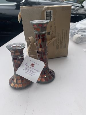 Home interiors decorative candle holder mosaic brand new for Sale in Lakewood, CA