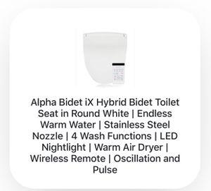 Alpha Bidet iX Toilet Seat for Sale in Lynwood, CA