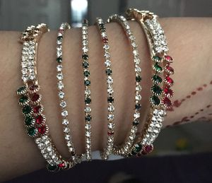 Red green stones bangles for Sale in New York, NY