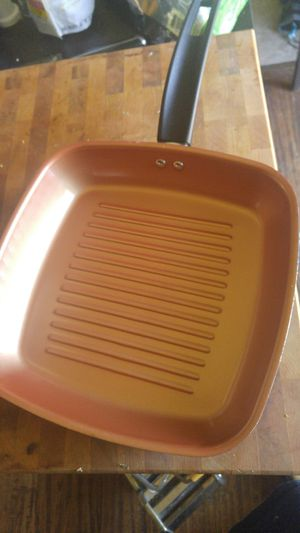 Copper Grill Pan for Sale in Garland, TX