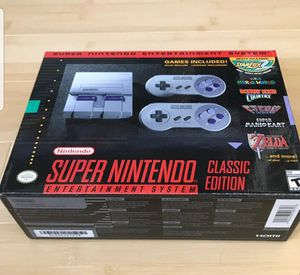 Super Nintendo CLASSIC EDITION brand new for Sale in Queens, NY
