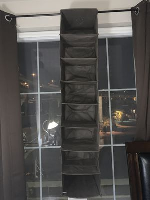 ClosetMaid 31454 8-Shelf Hanging Closet Organizer, Gray for Sale in Portland, OR