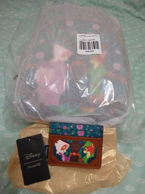 LoungeFly Disney Robin Hood Floral Mini Backpack for Sale in Sacramento, CA