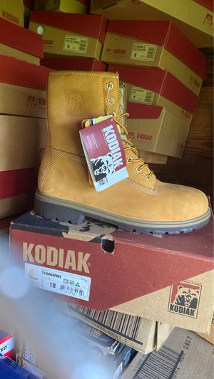 Kodiak High Rise Hard Tip Work Boots Size 10 for Sale in Clemmons, NC