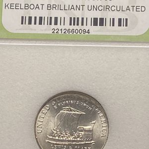 2004-P Jefferson Nickel Keelboat Brilliant Uncirculated for Sale in Plainfield, IL