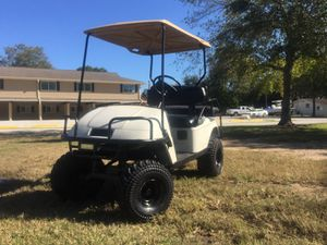 Ezgo Lifted Golf Cart for Sale in Pearland, TX
