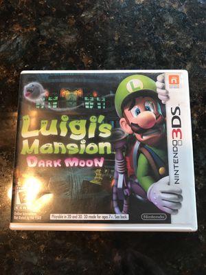 Nintendo 3DS-Luigis Mansion/Dark Moon for Sale in Federal Way, WA