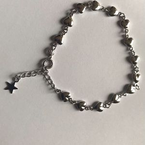 Dainty 18K White Gold Plated Bracelet Made In Italy for Sale in Federal Way, WA