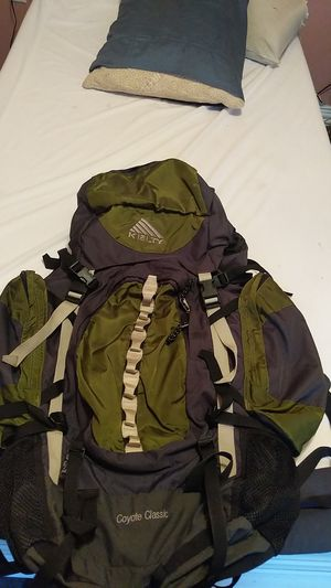 KELTY Trail Series Coyote Backpack green for Sale in Humble, TX