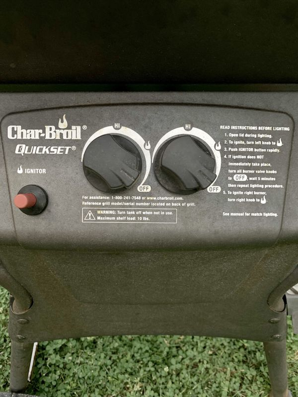 Chair Broil gas Grill