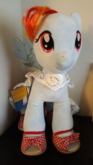 16' Rainbow dash build-a-bear for Sale in Sumner, WA