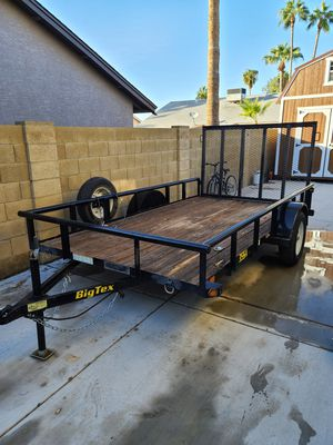 "Big tex trailer 77"" X 12' for Sale in Mesa, AZ"