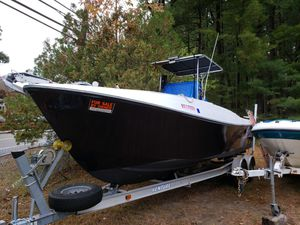 1979 aquasport with twin 150,s for Sale in Lowell, MA