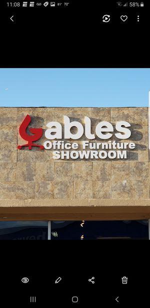 GABLES OFFICE FURNITURE 5935 SW 8 ST MIA FLA for Sale in Miami, FL