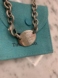 Tiffany & co return to Tiffany necklace for Sale in Redlands,  CA