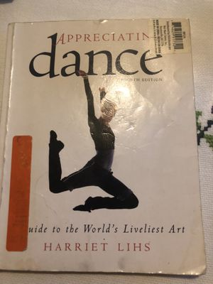 Appreciating dance Fourth Edition by Harriet Lihs for Sale in Los Angeles, CA