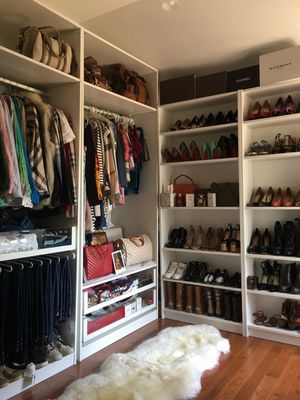 PAX custom closet system with shoe shelves for Sale in The Bronx, NY