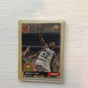 Shaquille O'Neal 92-93 Upper Deck all Division Card. for Sale in Mountlake Terrace, WA