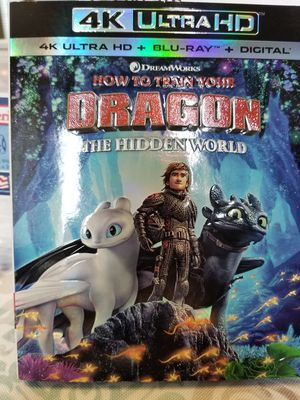How to train your dragon 4K ULTRA for Sale in Vancouver, WA