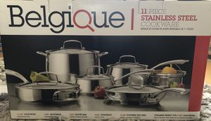 STAINLESS STEEL POT SET / Brand New for Sale in Davie, FL