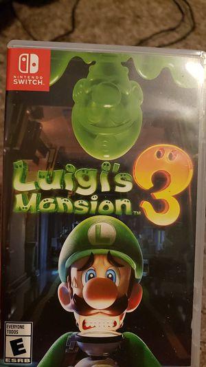 Luigis mansion 3 for Sale in Lewisville, TX