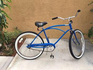 Beach cruiser size 26 very good condition new tires new seat for Sale in Anaheim, CA