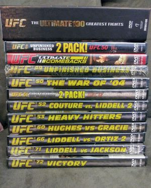 The ultimate UFC DVD collection for Sale in Lexington, KY