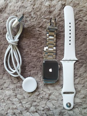Apple Watch series 2 38mm W/2 bands cellular +GPS for Sale in Chicago, IL