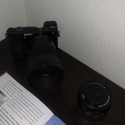 Sony A6000 W/Kit Lens & Sigma 30mm Lens for Sale in North Las Vegas,  NV