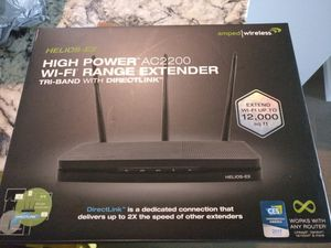 Wifi router range extender for Sale in Jacksonville, FL