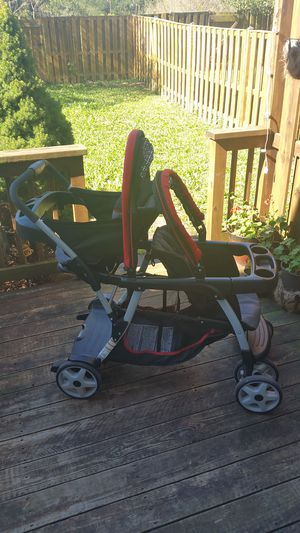 Graco Double Stroller Stand & Ride click connect for Sale in Vienna, VA