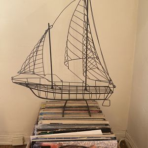Wire Sailboat Sculpture for Sale in Los Angeles, CA