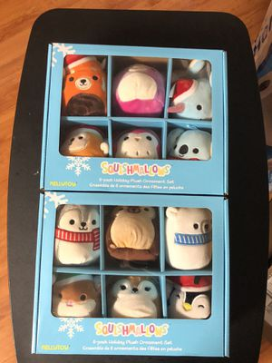 SQUISHMALLOW ORNAMENTS!! CANADIAN EXCLUSIVE!! for Sale in Rosemead, CA