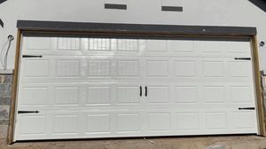 16x7 garage door for Sale in San Marcos, TX