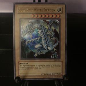 Yugioh Card Blue-Eyes White Dragon JMP-001 Holo for Sale in Las Vegas, NV