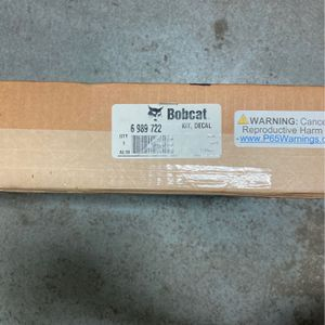 Bobcat Decal Kit OEM for Sale in Los Angeles, CA