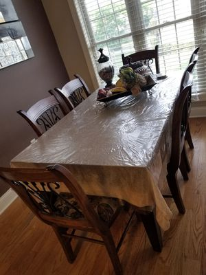 Dining table with 6 chairs for Sale in Hendersonville, TN