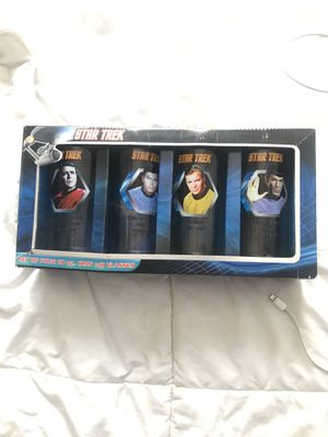 Star Trek Collectible glasses for Sale in San Diego, CA